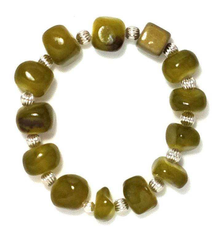 Stony Green Bracelet MB106