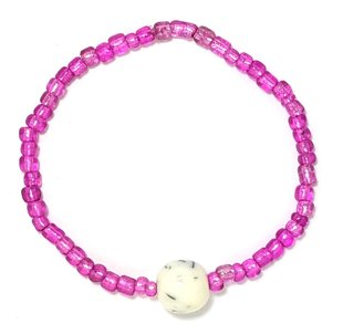 Pink Eyed Bracelet MB115