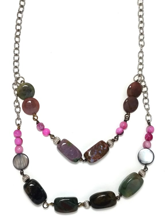 Southern Nature Charm Necklace