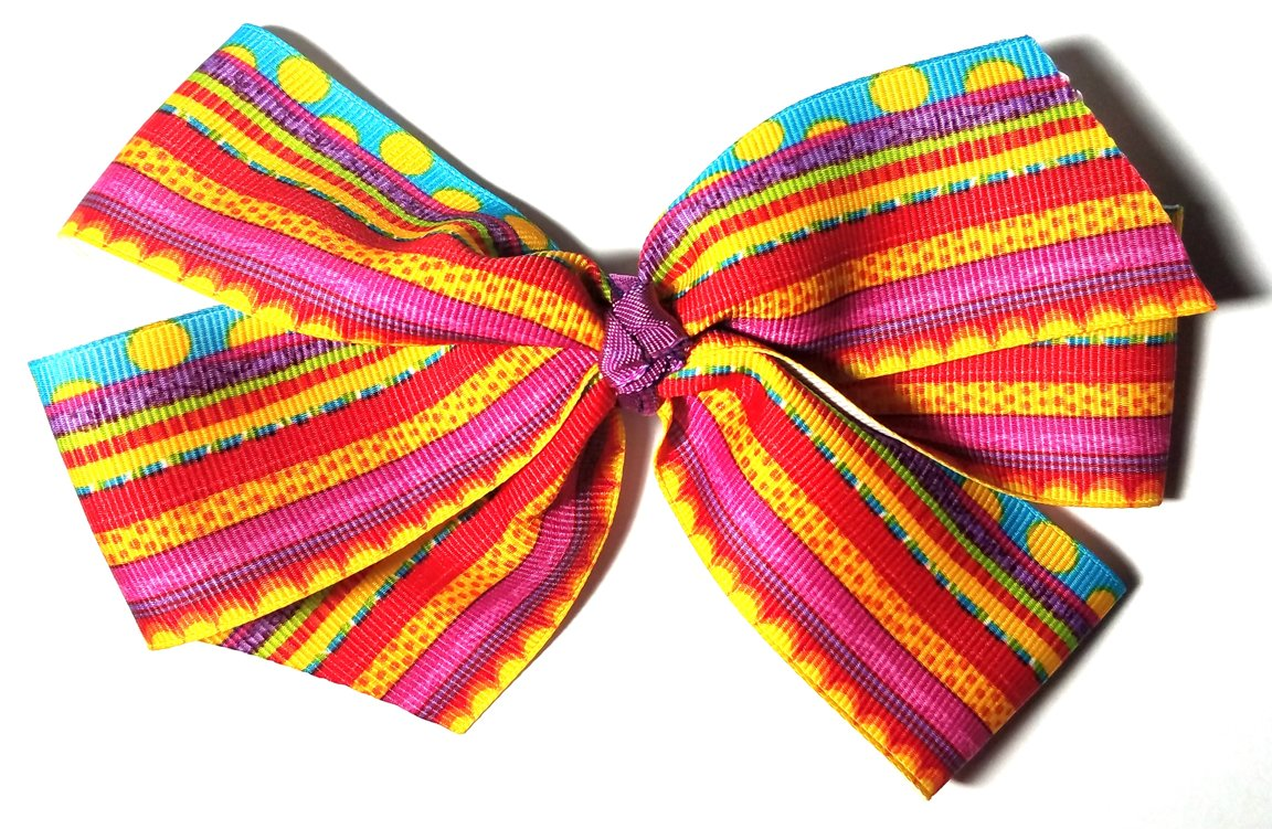 Multi-colored Bow D115
