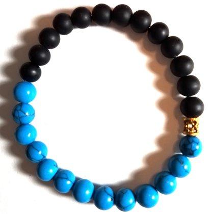 Sea Black Men's Bracelet MM102